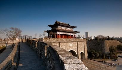 กำแพงเมืองหนานจิงสมัยราชวงศ์หมิง (南京明城墙: nan jing ming cheng qiang)